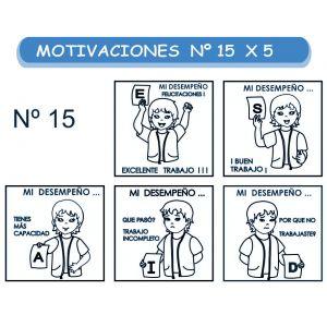 MOTIVACIONES NO.15 MI DESEMPEÑO X 5