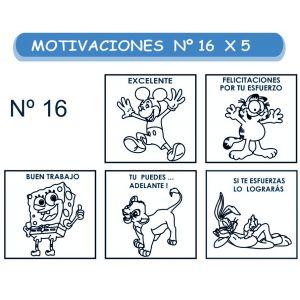 MOTIVACIONES NO.16  CÓMICOS X 5