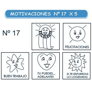 MOTIVACIONES NO.17 SURTIDO X 5