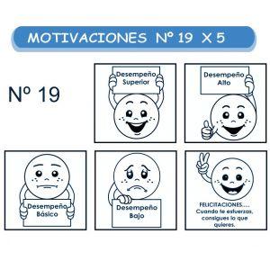 MOTIVACIONES NO.19 X 5