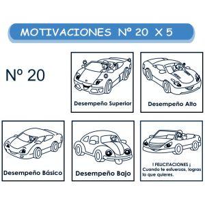 MOTIVACIONES NO.20 CARROS X 5
