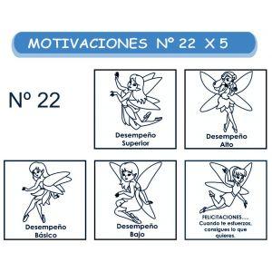 MOTIVACIONES NO.22 HADAS X 5