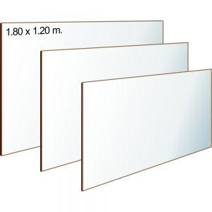 TABLERO ACRÍLICO 180 X 120 cm.