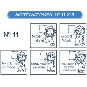 MOTIVACIONES NO.11 EN INGLES X 5