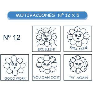 MOTIVACIONES NO.12 EN INGLES X 5