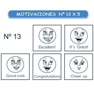 MOTIVACIONES NO.13 EN INGLES X 5