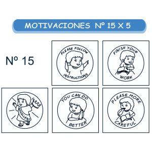 MOTIVACIONES EN INGLES NO.15 X 5
