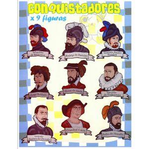 """COLECCIÓN KANGURITOS """"CONQUISTADORES"""" X 9"""