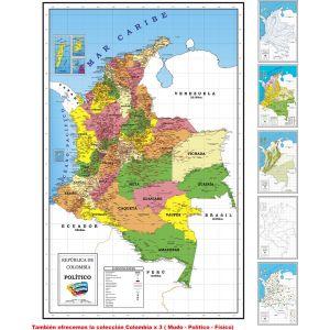 COLECCIÓN COLOMBIA X 6