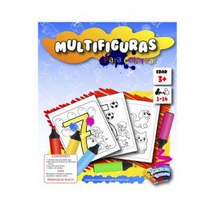 MULTIFIGURAS PARA COLOREAR X7