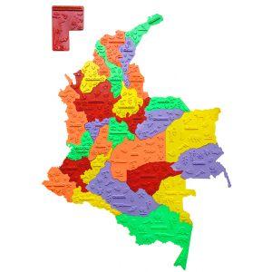 ROMPECABEZAS DE COLOMBIA (POLÍTICO - ECONÓMICO)