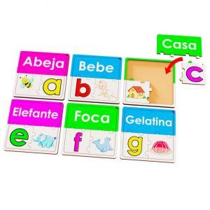 SET DE ROMPECABEZAS ABC X 30